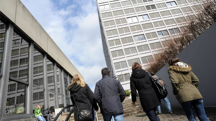 Die FHNW – hier ihr Standort in Muttenz – möchte mehr Geld. (Archivbild)