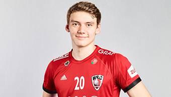 Lukas Laube bleibt dem HSC Suhr Aarau bis 2022 treu.