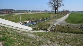 Die Querung des Büelisackerkanals in Wohlen sorgt derzeit im Dorf für grossen Gesrpächsstoff.
