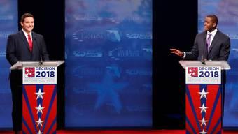 Der Demokrat Andrew Gillum (rechts) repräsentiert das «neue Florida», sein republikanischer Gegner Ron DeSantis steht für das alte.