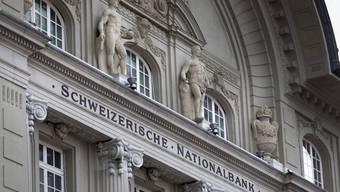 Die Schweizerische Nationalbank in Bern.
