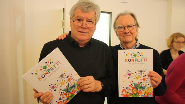 Bruno Walter und Rolf Imbach haben ein Kinder-Fasnachtsbilderbuch gestaltet