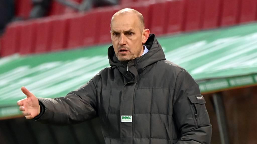 Heiko Herrlich muss nach dem 2:3 am Freitag gegen Köln gehen