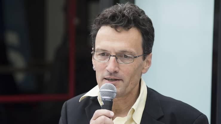 FDP-Politiker und Pro-Natura-Aargau-Geschäftsführer Johannes Jenny. (Archiv)