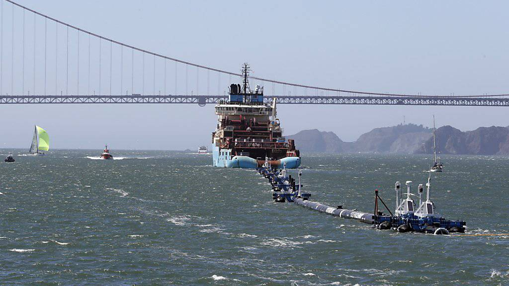 «Ocean Cleanup» funktioniert noch nicht