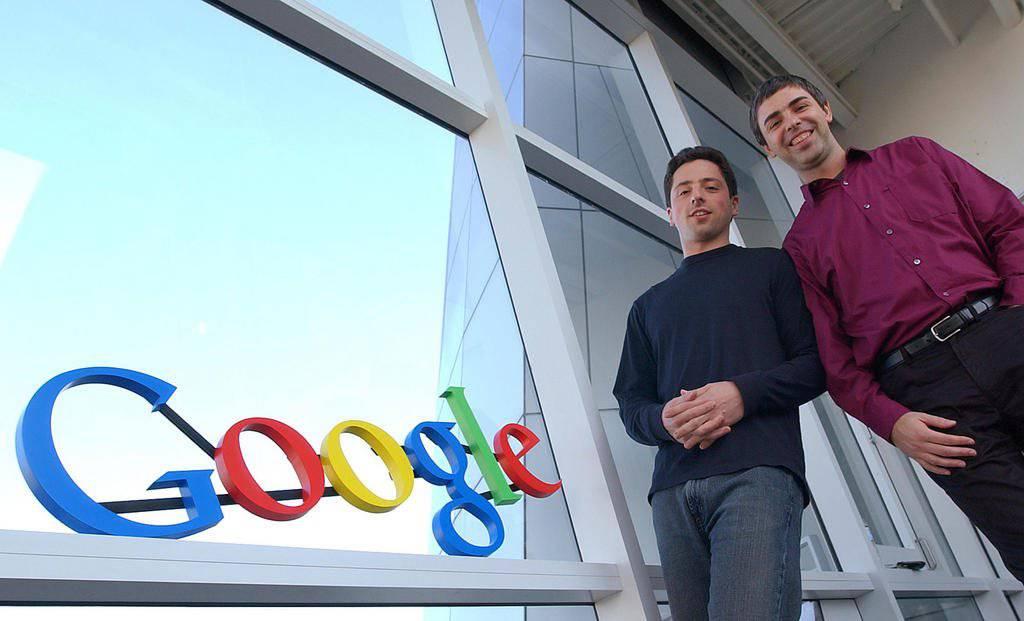 Mit nur gerade vier Computer und einem Startkapital von 100'000 Dollar gründeten Sergey Brin und Larry Page Google. (AP Photo/Ben Margot, file)
