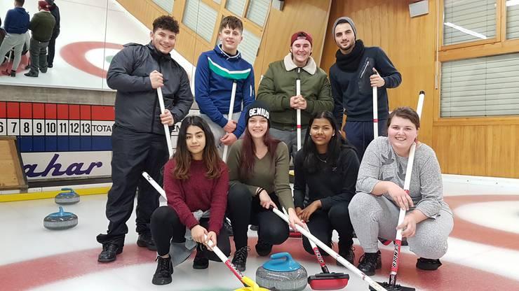 Curling als koordinative Herausforderung
