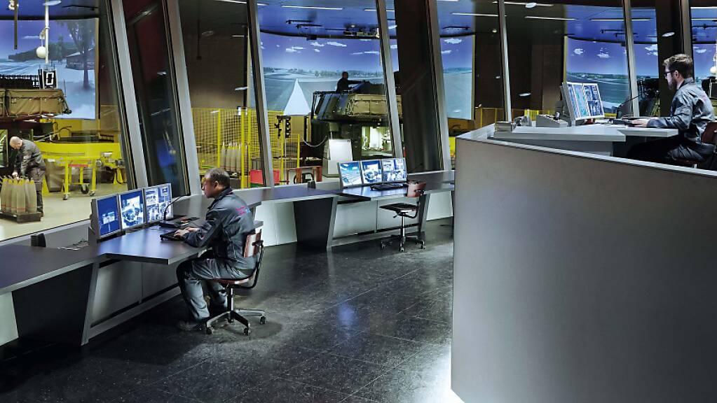 Externe Experten fanden bei Ruag International bei einer Überprüfung Sicherheitsmängel in der IT. (Symbolbild)