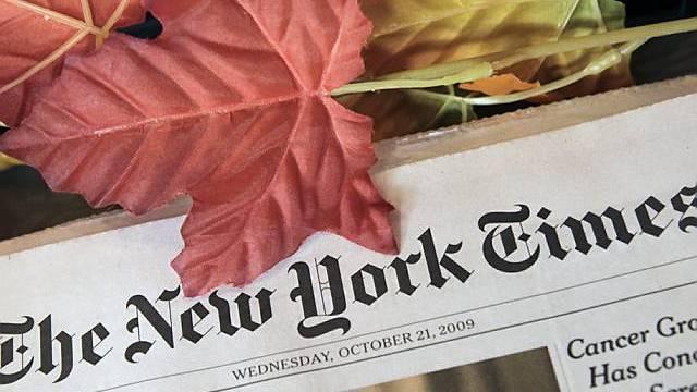 Kein goldener Herbst: Die New York Times muss Rückschläge hinnehmen