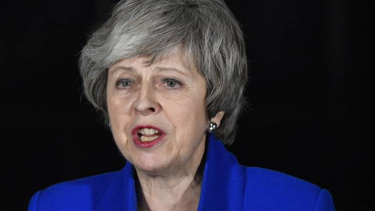 Die EU blickt gespannt nach London. Am späteren Nachmittag soll die britische Premierministerin Theresa May eine Alternative zum Brexit-Plan vorstellen. (Archivbild)