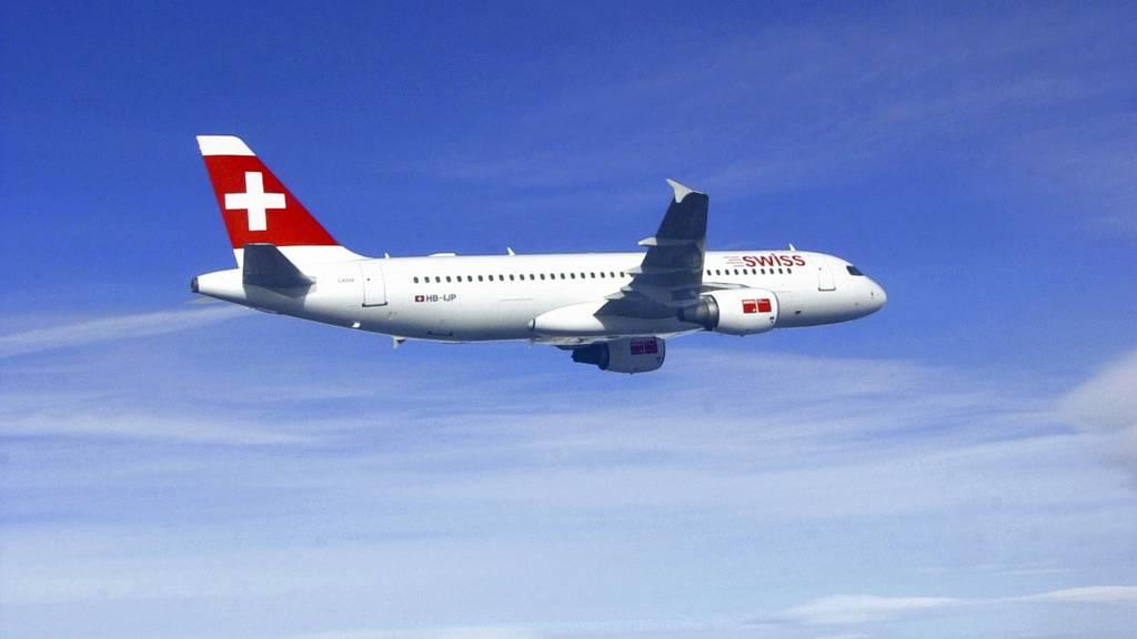 Randalierende Passagiere in Schweizer Flugzeugen