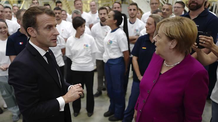 Emmanuel Macron und Angela Merkel sind es, die in der EU derzeit das Sagen haben. (Archivbild)