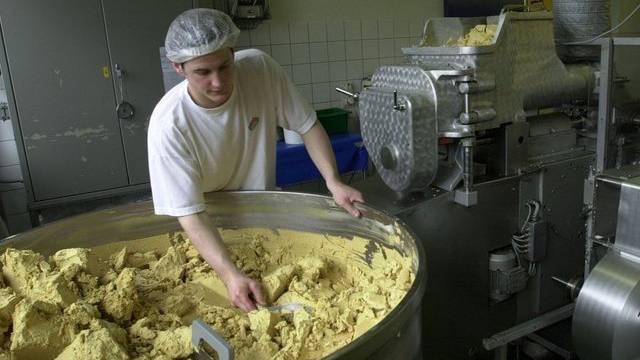 Die Produktionsstätte des Lebensmittelherstellers Hügli in Steinach SG (Archiv)