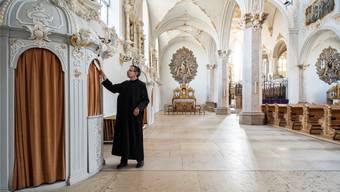 Im Kloster Mariastein leben nur noch 17 Benediktinermönche. Ihre Zahl nimmt konstant ab.