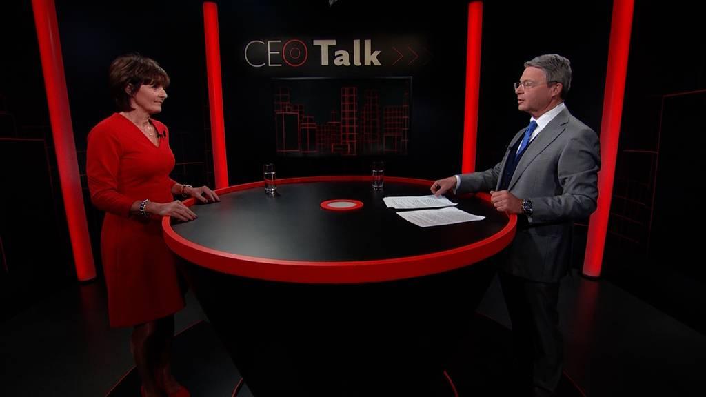 «CEO Talk» mit Ruth Metzler-Arnold, Switzerland Global Enterprise