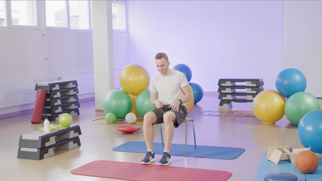 «Gymnastik im Wohnzimmer» vom 28. Mai 2021