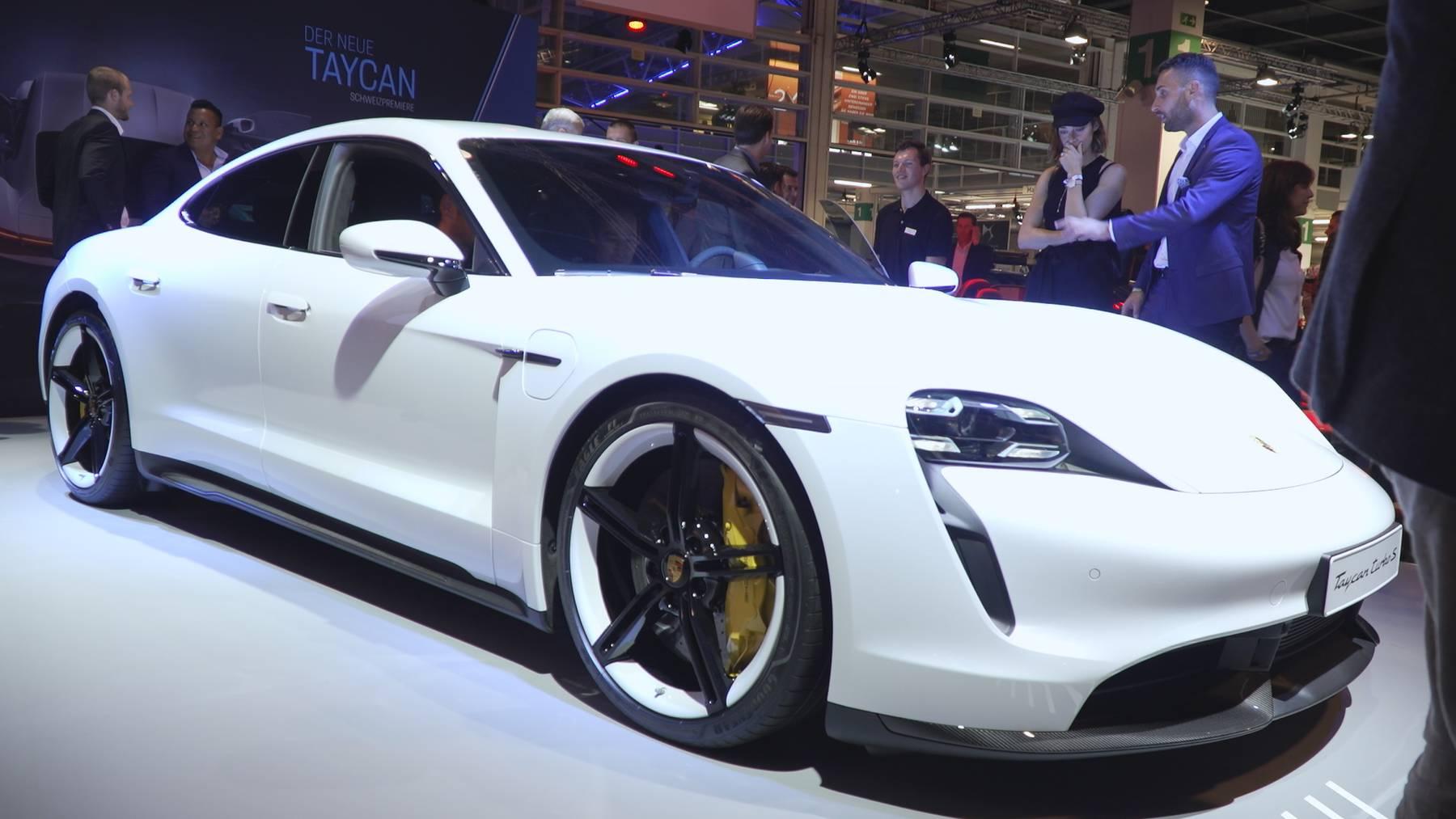 E-Cars: Der grosse Trend an der Auto Zürich
