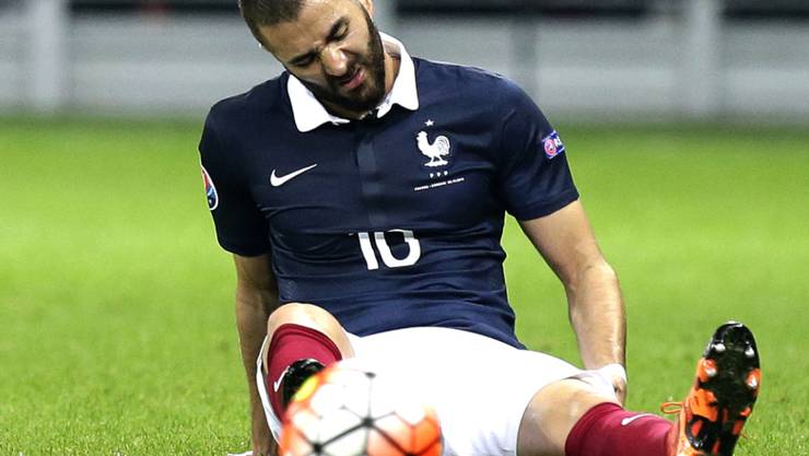 Wird vorübergehend nicht mehr für Frankreich auflaufen dürfen: Karim Benzema
