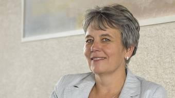 Sieht sich als Opfer einer Medienkampagne: Landratspräsidentin Daniela Gaugler (SVP). (Archiv)