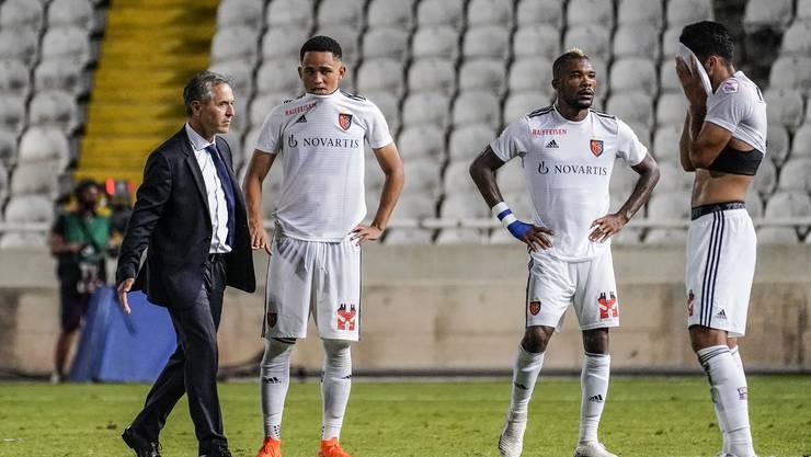 Die Amtszeit von Marcel Koller beim FCB begann zwar mit sechs Siegen in Serie, doch weil Spiel 8 in der Qualifikation der Europa League in Limassol mit 0:1 verlorenging, verpasste der FCB erstmals seit 2007 das europäische Geschäft.