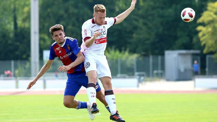 Die Spieler des FCB U21 konnten ihre Partie von Anfang bis zum Schluss dominieren.