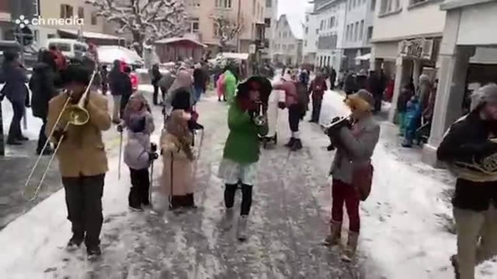 Senioren-Fasnachtsumzug in Einsiedeln