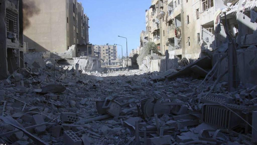 Allein in Ost-Aleppo leben etwa 250'000 Menschen im Belagerungszustand. (Archivbild)