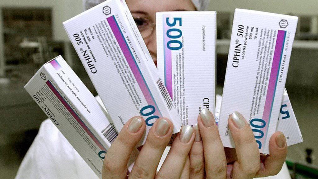 Experten empfehlen eine zurückhaltende  Anwendung von Antibiotika (Symbolbild)