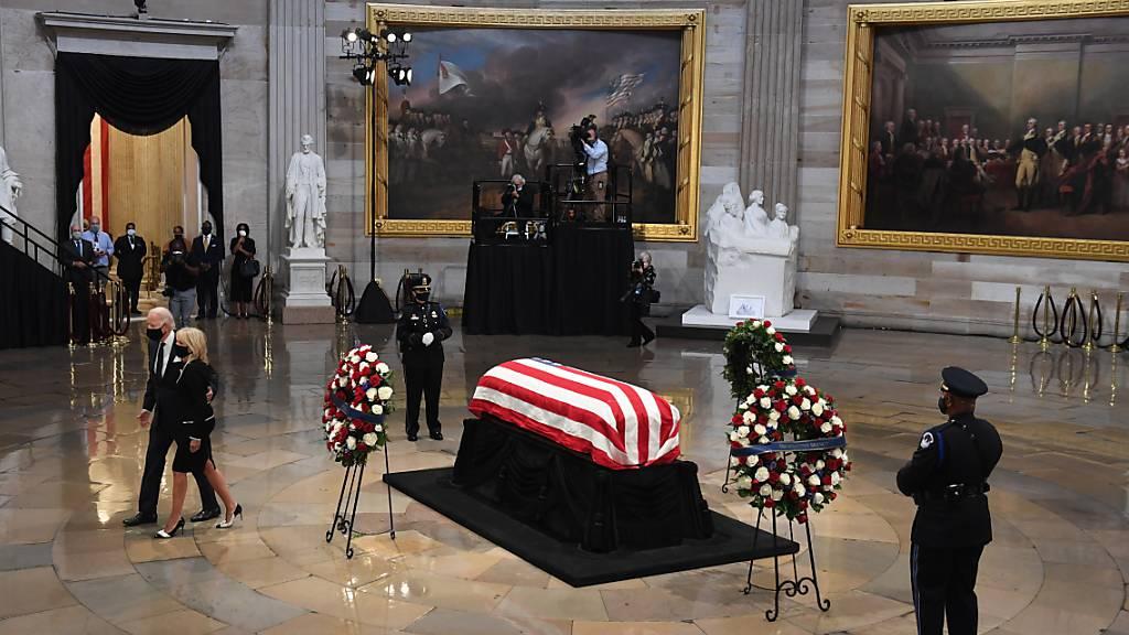 Abschied eines «Helden Amerikas»: Drei frühere US-Präsidenten haben den verstorbenen Bürgerrechtler und demokratischen Kongressabgeordneten John Lewis als einen der grossen Helden Amerikas gewürdigt.