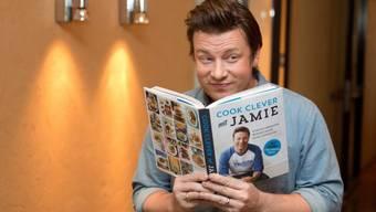 Jamie Oliver besitzt ein gutes Rezept, um Vater zu werden. Sein fünftes Kind, ein Knabe, ist im August 2016 auf die Welt gekommen (Archiv)