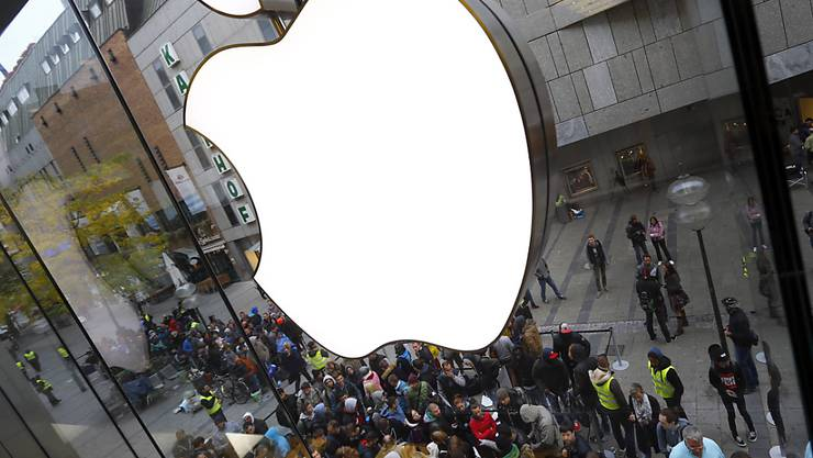 Der angebissene Apfel bleibt die wertvollste Marke der Welt. (Archiv)