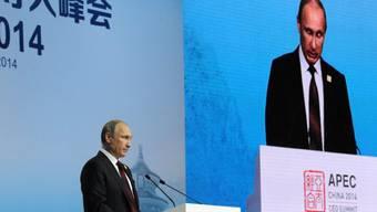 Russlands Präsident Putin am APEC-Gipfel