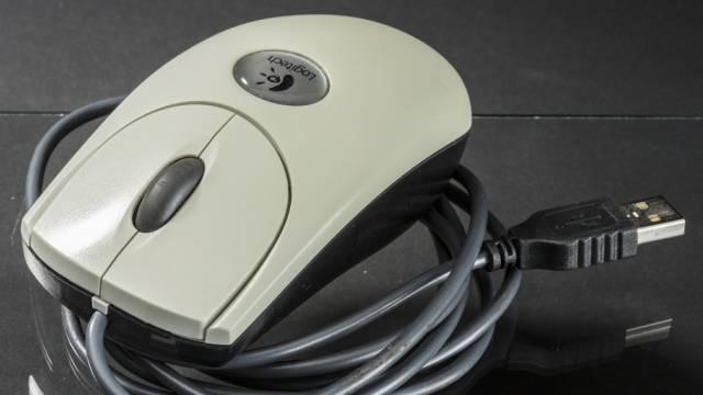 Eine Logitech-Maus (Archiv)