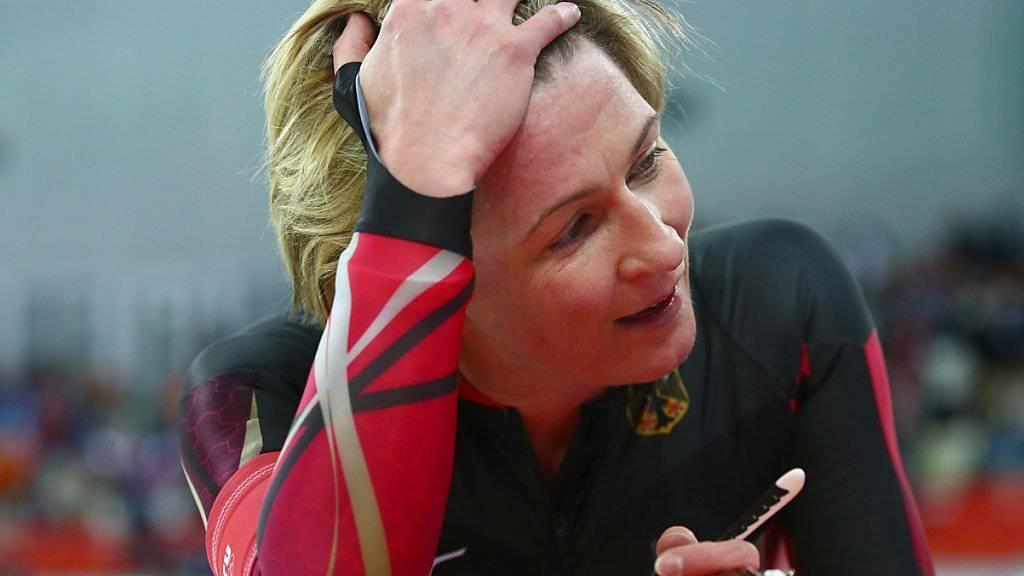 Die deutsche Eisschnellläuferin Claudia Pechstein gewann an Olympischen Spielen insgesamt fünfmal Gold