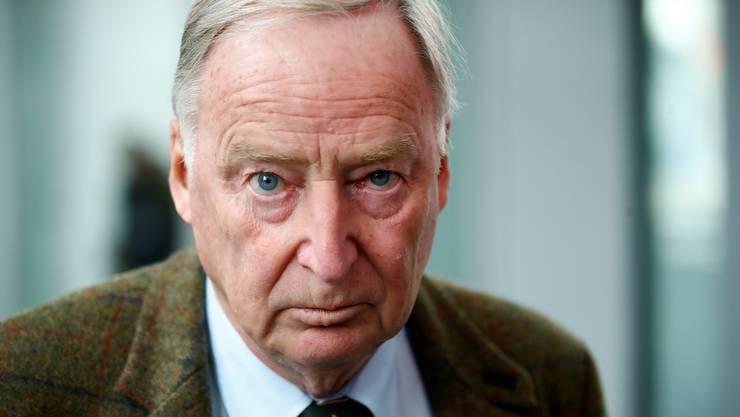 Alexander Gauland wurde mit Alice Weidel an die Spitze der AfD-Bundestagsfraktion gewählt.