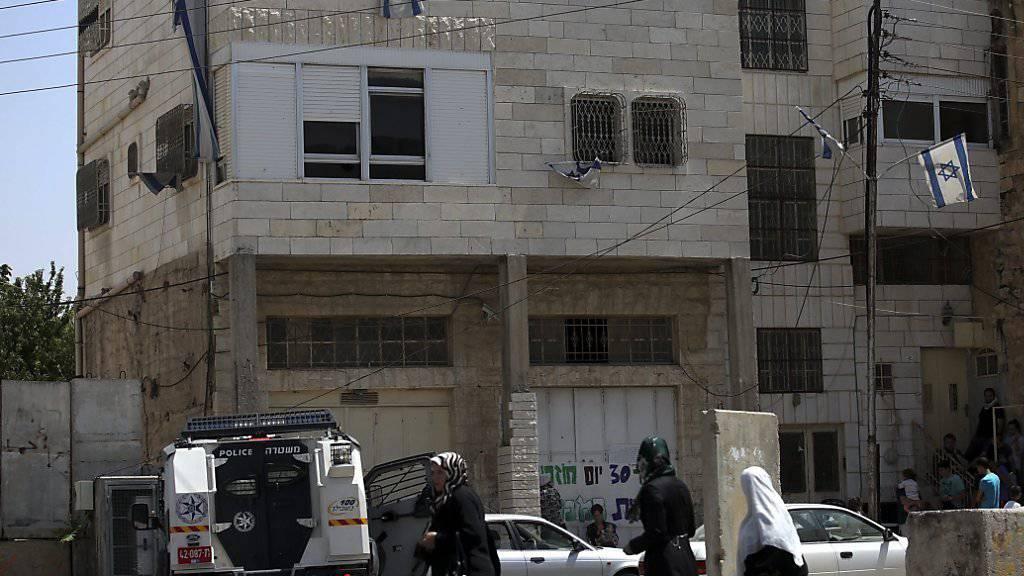 Im Westjordanland hat Israel die Zerstörung tausender Häuser wegen fehlender Bewilligungen angeordnet - die UNO-Organisation OCHA kritisiert das Vorgehen. (Symbolbild)