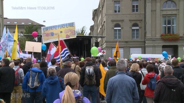 """""""Marsch fürs Läbe"""" erwartet politisch explosive Mischung"""