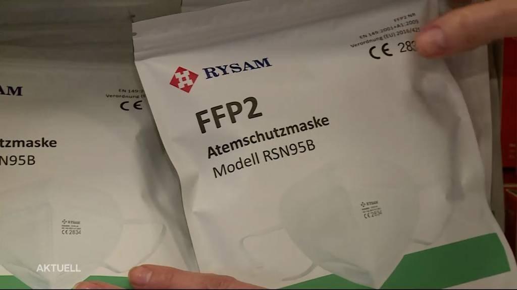 Verkauf von FFP2-Masken boomt