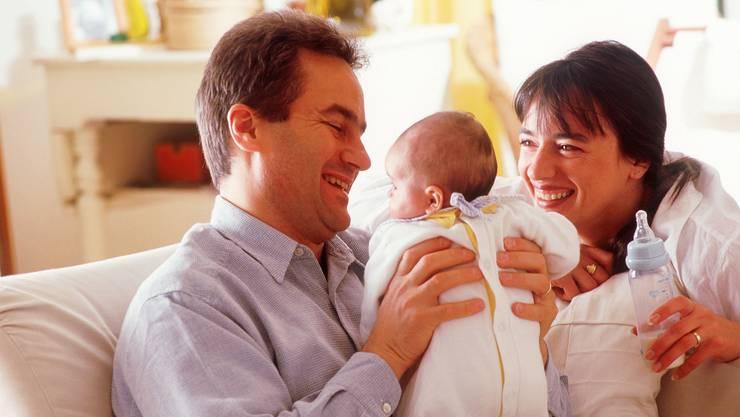 Für den modernen Vater kommt die Familie an erster Stelle.