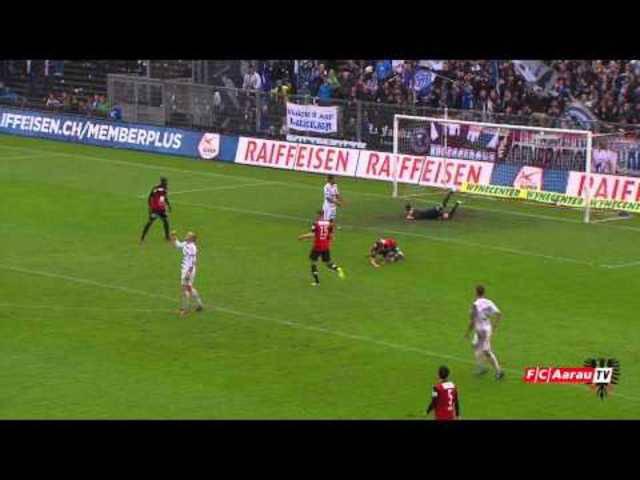 Danke Joël Mall! Mit diesem Video verabschiedete sich der Club von seinem Goalie.