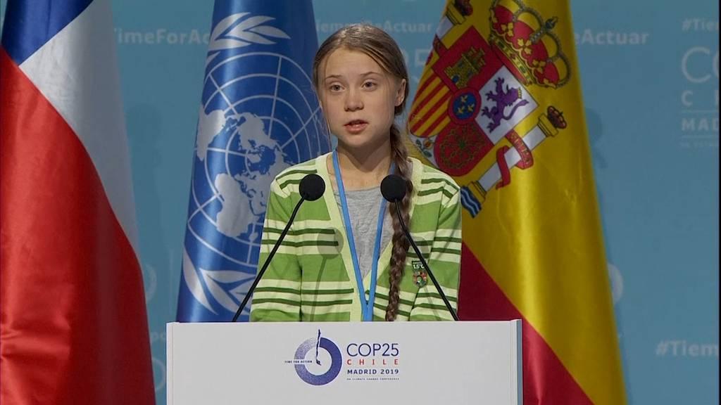 Greta Thunberg: «Jeder Bruchteil eines Grades zählt»