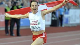 Nach zwei Stunden, 15 Minuten und 31 Sekunden hatte Röthlin sein EM-Gold auf sicher.