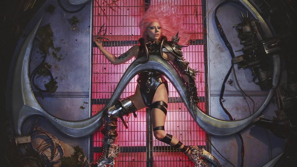 Ernste Themen, verpackt in eingängigen Elektropop: US-Popstar Lady Gaga veröffentlicht ihr sechstes Studioalbum «Chromatica».