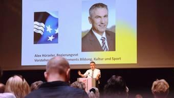 Reden und Musik: Die besten Momente von der Eröffnung der 124. Lehrer-Weiterbildungskurse in Brugg-Windisch.