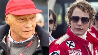 Rennfahr-Legende Niki Lauda wird im Film von Daniel Brühl gespielt.
