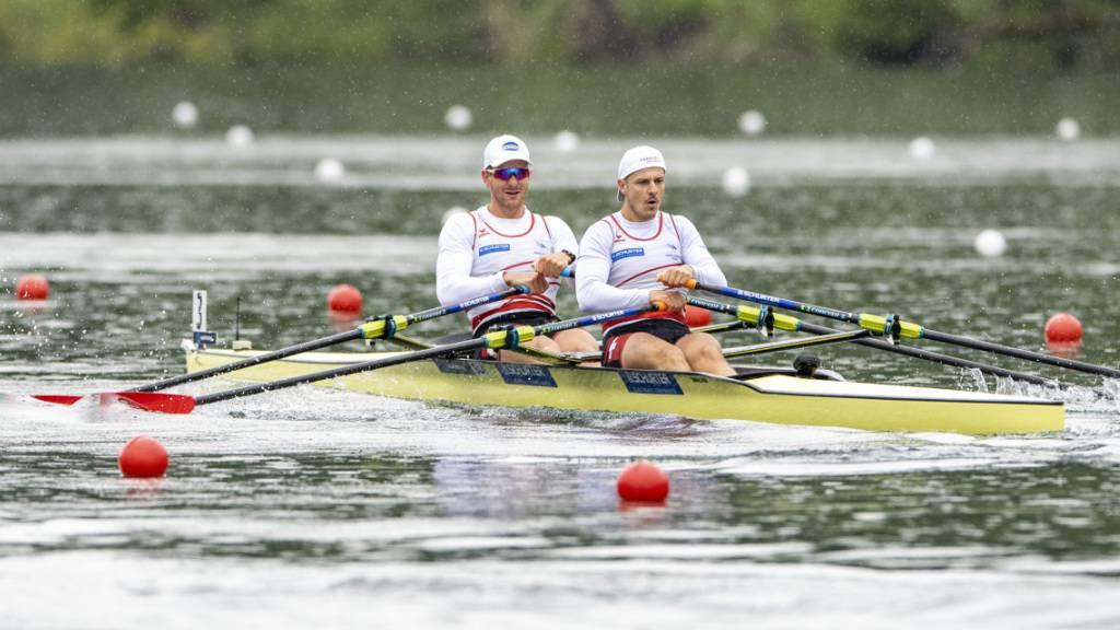 Roman Röösli (rechts) und Barnabé Delarze mussten im Halbfinal hart kämpfen