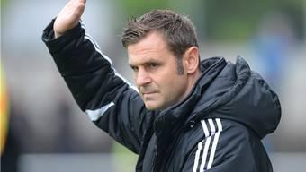 Zufrieden mit dem 0:0: Baden-Trainer Sven Christ.