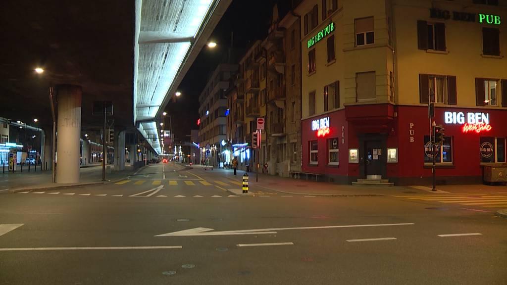 Slowdown zeigt in Zürichs Ausgehviertel grosse Wirkung