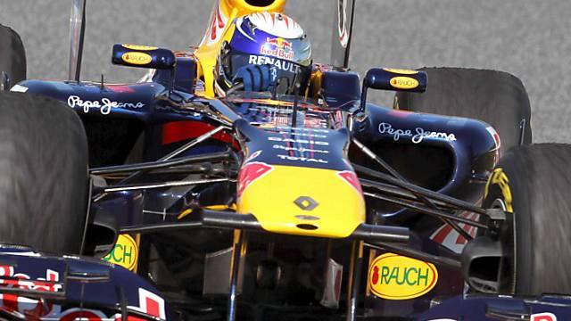 Vettel war der schnellste