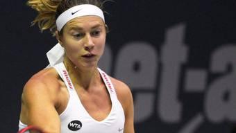 In Luxemburg auf der Überholspur: Stefanie Vögele erreichte erstmals seit Juli 2014 die Halbfinals eines WTA-Turniers